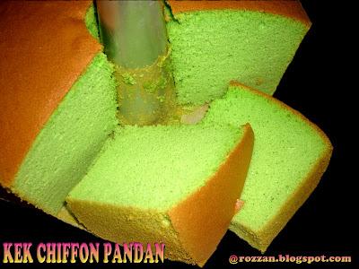 KEK CHIFFON PANDAN ( 2 )