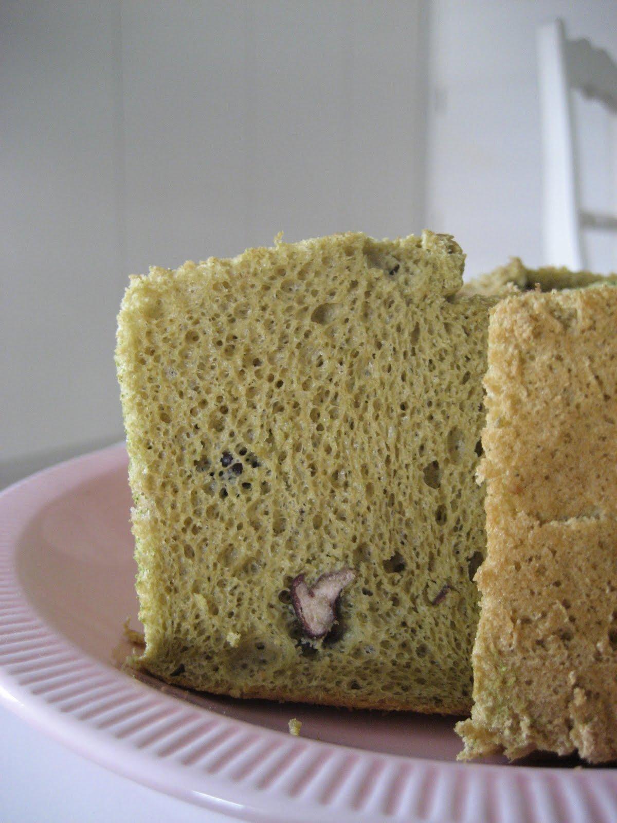 Japanese Matcha Chiffon Cake Recipe