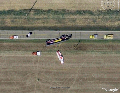 Weird Google Earth images Part