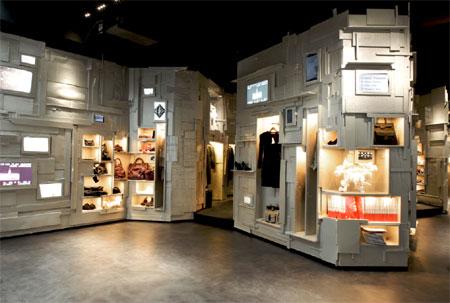 e0af0927048421 Dans cette boutique, devraient être rassemblées toutes les collections  d accessoires, sacs, chaussures, ceintures, lunettes, bijoux et bijoux de  tête, …