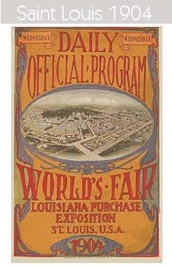 1904 Todos los logos de todas las olimpiadas de la historia