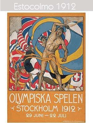 1912 Todos los logos de todas las olimpiadas de la historia
