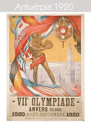 1920 Todos los logos de todas las olimpiadas de la historia