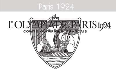 1924 Todos los logos de todas las olimpiadas de la historia