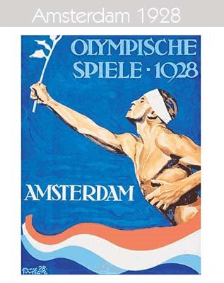 1928 Todos los logos de todas las olimpiadas de la historia