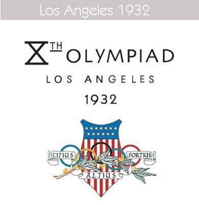 1932 Todos los logos de todas las olimpiadas de la historia