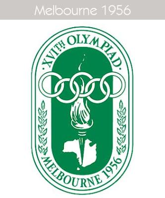 1956 Todos los logos de todas las olimpiadas de la historia