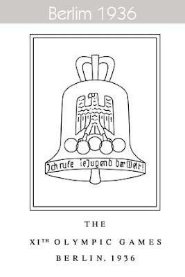 1936 Todos los logos de todas las olimpiadas de la historia