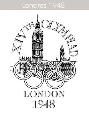 1948 Todos los logos de todas las olimpiadas de la historia