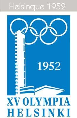 1952 Todos los logos de todas las olimpiadas de la historia