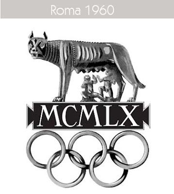 1960 Todos los logos de todas las olimpiadas de la historia