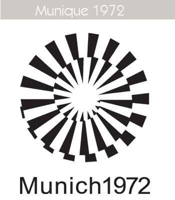 1972 Todos los logos de todas las olimpiadas de la historia