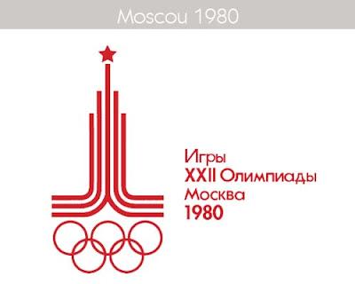 1980 Todos los logos de todas las olimpiadas de la historia