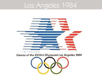 1984 Todos los logos de todas las olimpiadas de la historia