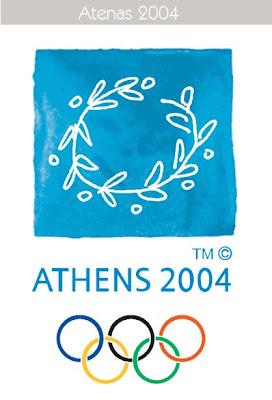 2004 Todos los logos de todas las olimpiadas de la historia