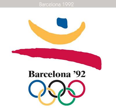 1992 Todos los logos de todas las olimpiadas de la historia