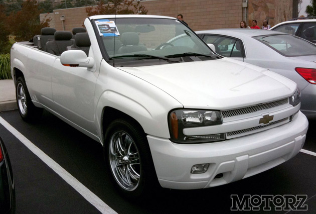 Chevy Trailblazer Cabrio We Can T Think Of Many Convertibles That You Could Safely Take Off Road Or Haul A Trailer With Save