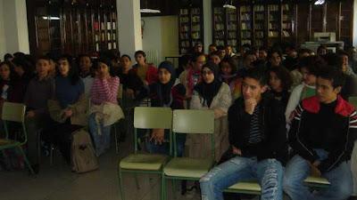 Una vista de los alumnos asistentes
