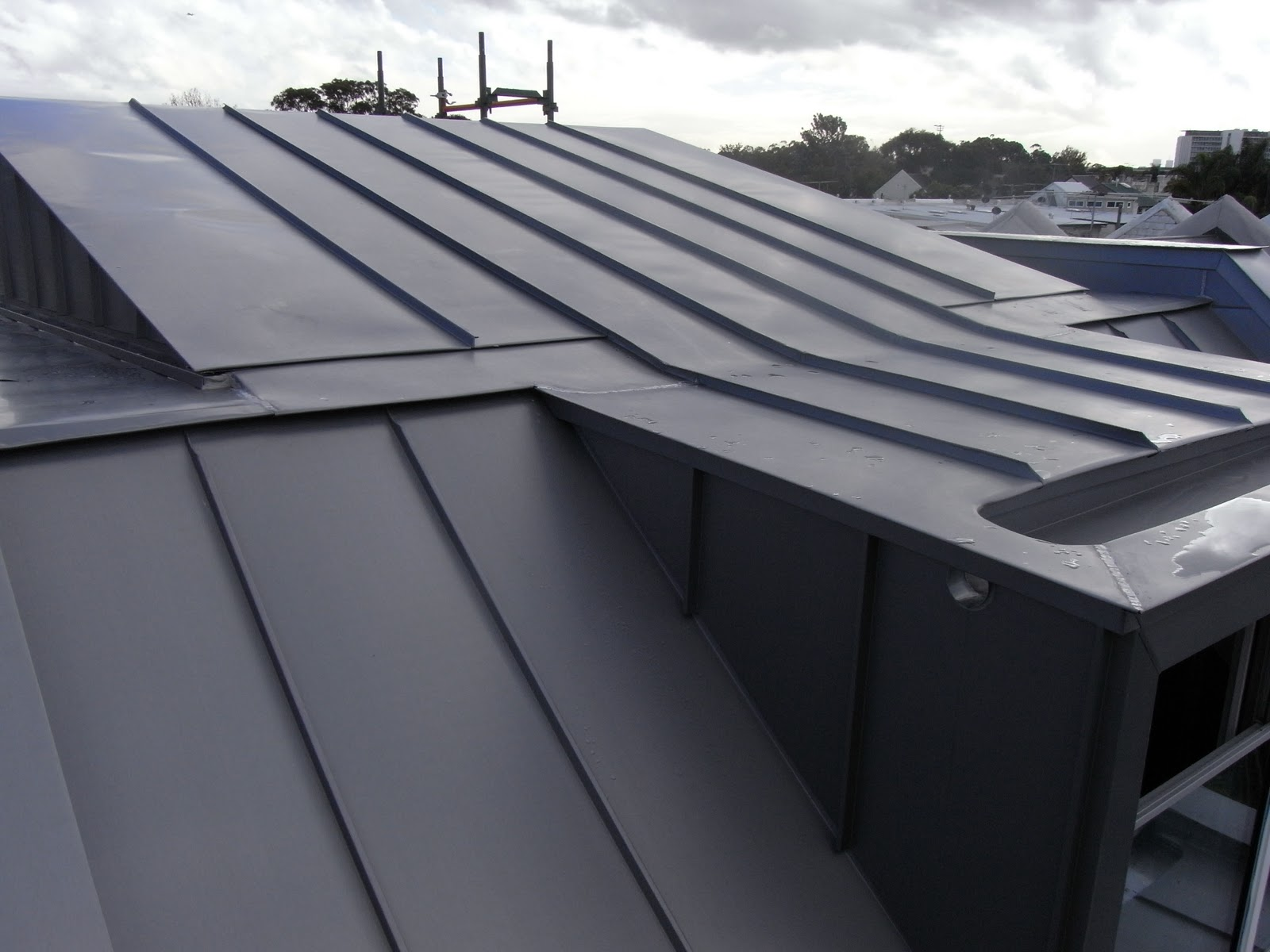 Zinc And Copper Zenroofing Zinc Roof Alexandria