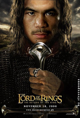 Manny Pacquiao funny pictures - Manny Pacquiao as Aragorn