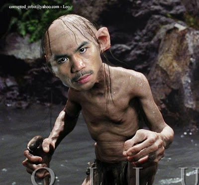Manny Pacquiao as Gollum