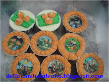 Cup cake with edible image
