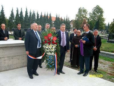 Sjećanje na poginule branitelje 101. bosansko brodske brigade