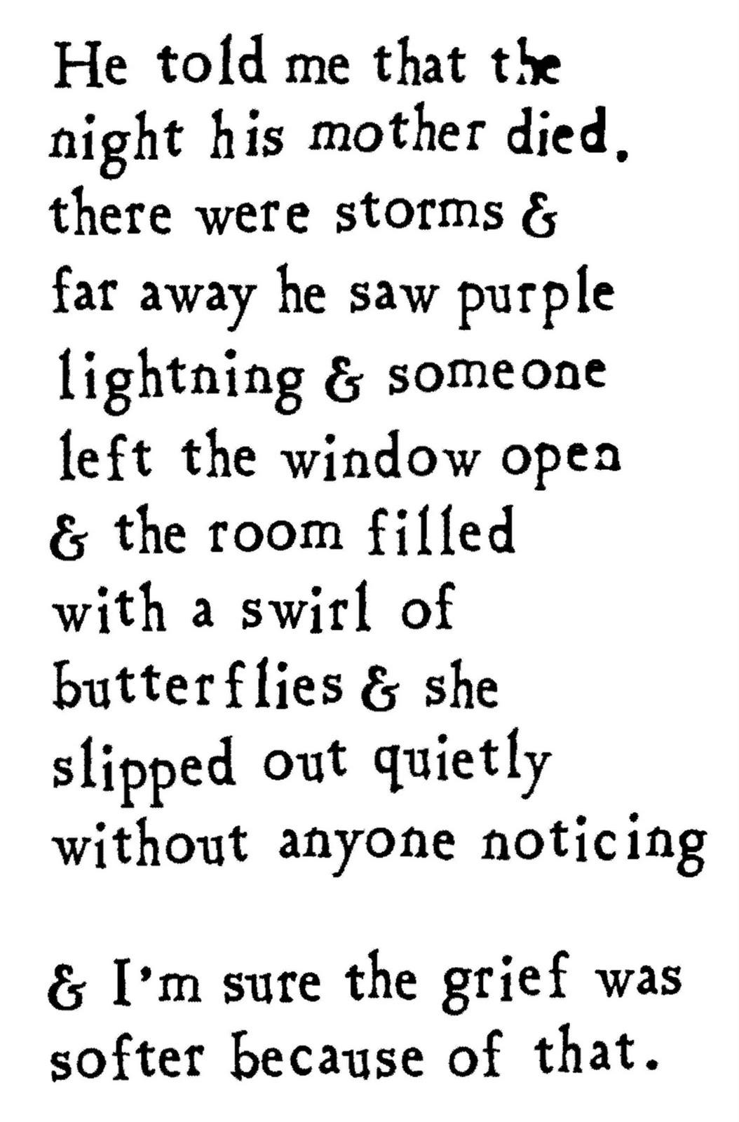 Poem Bouquet: January 2011