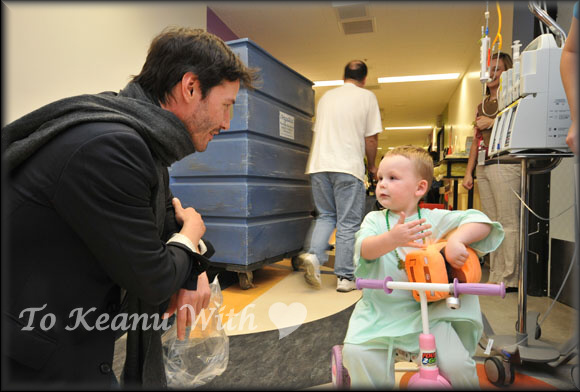 Image result for keanu reeves childrens hospitals