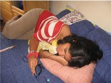 MaiaVane siempre duerme