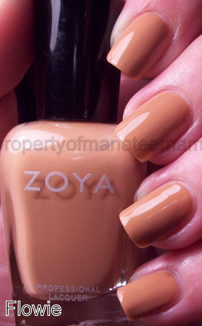 This is really dark warm yellow for me as far as neutrals but I like    Zoya Flowie
