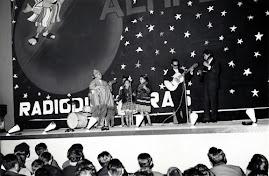 En una gira por Bolivia en 1963, en La Paz.