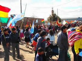 Festejos de la Colectividad Boliviana por la Independencia