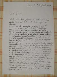Adhesion de Jacques Soubilou desde Francia