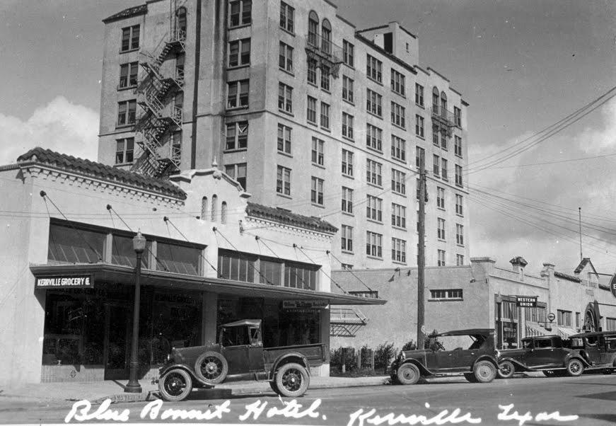 The Blue Bonnet Hotel Around 1930