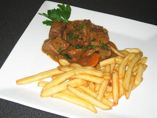 Les gourmandises la belge carbonnades de boeuf la - Cote de boeuf a la cocotte ...