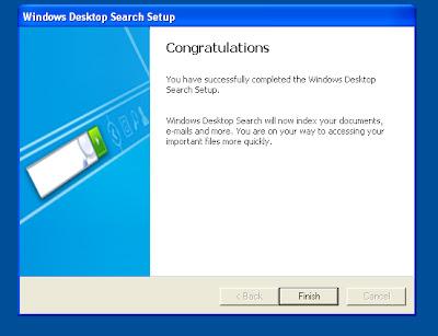 MPECS Inc  Blog: Windows XP - Installling Windows Desktop Search - Error