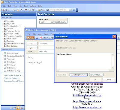 MPECS Inc  Blog: Outlook Error Message - Office Outlook does