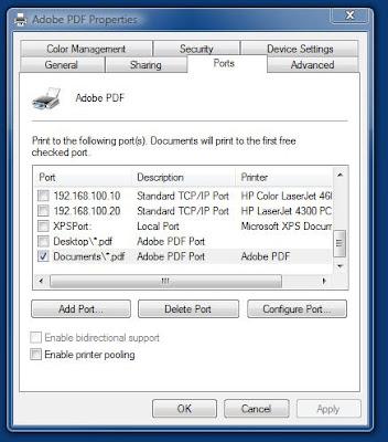 adobe pdf printer freezes
