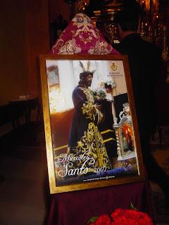 Presentado el cartel anunciador del próximo Miércoles Santo de la Sacramental del Prendimiento