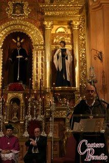 """Fotografías del pregón de la Sacramental del Prendimiento en """"Trabajadera prendía"""""""