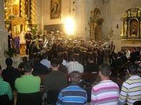La Salud de Alcalá la Real ha ofrecido hoy un concierto en el convento de las Claras