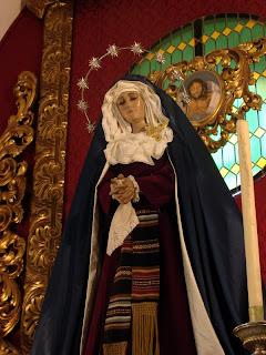 La Virgen del Consuelo de hebrea