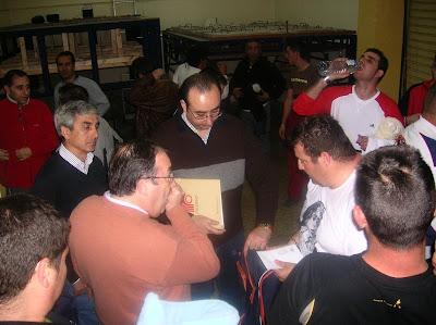 Ensayo de la cuadrilla de la Virgen de la Merced (26 de febrero de 2007)