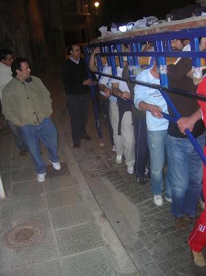 Ensayo de la cuadrilla de la Merced (12 de marzo de 2007)