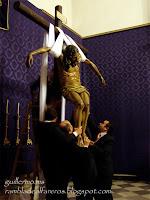 Traslado del Cristo de la Redención a la Cruz