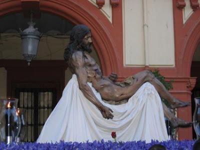 Traslado del Cristo de la Caridad a San Agustín