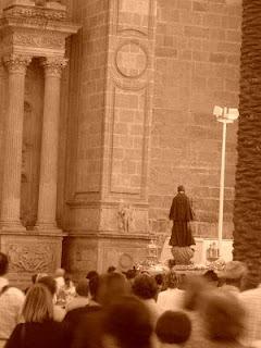 La procesión de Santa Gema en PASEO COFRADE