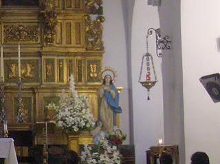 Cultos en Santiago a María Auxiliadora