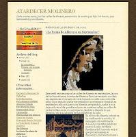 """La """"dama romántica"""" en el blog """"Atardecer molinero"""""""